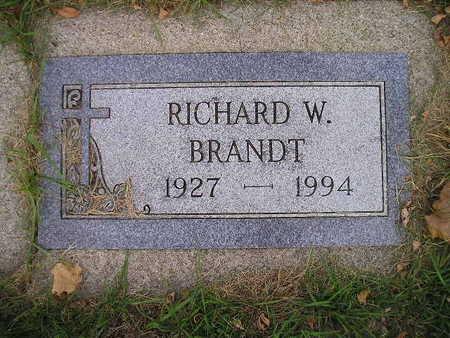 BRANDT, RICHARD W - Bremer County, Iowa | RICHARD W BRANDT
