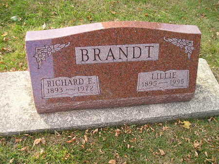 BRANDT, RICHARD F - Bremer County, Iowa | RICHARD F BRANDT