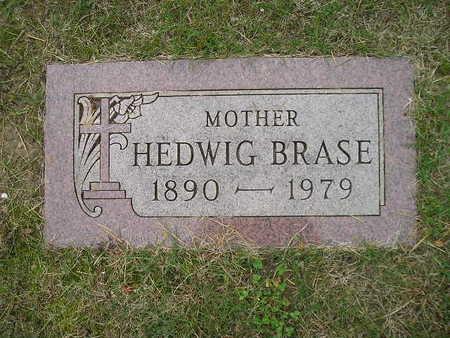BRASE, HEDWIG - Bremer County, Iowa   HEDWIG BRASE