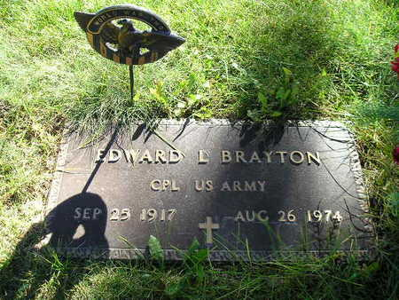 BRAYTON, EDWARD L - Bremer County, Iowa | EDWARD L BRAYTON