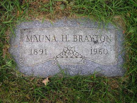 BRAYTON, MAUNA H - Bremer County, Iowa | MAUNA H BRAYTON