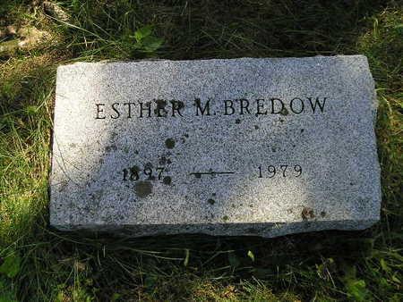 BREDOW, ESTHER M - Bremer County, Iowa | ESTHER M BREDOW