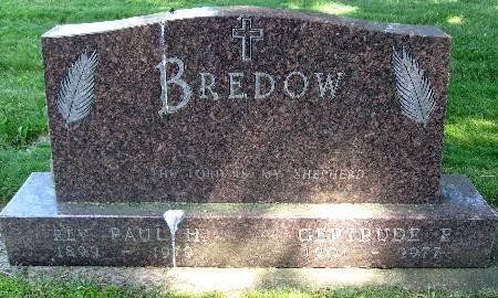 BREDOW, GERTRUDE E. - Bremer County, Iowa | GERTRUDE E. BREDOW