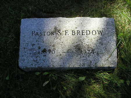 BREDOW, S F - Bremer County, Iowa | S F BREDOW