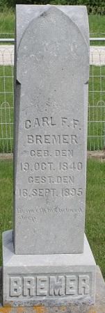 BREMER, CARL F.F. - Bremer County, Iowa | CARL F.F. BREMER