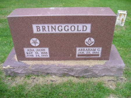 BRINGGOLD, ADA JANE - Bremer County, Iowa | ADA JANE BRINGGOLD