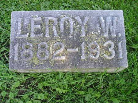 BROADIE, LEROY W - Bremer County, Iowa | LEROY W BROADIE