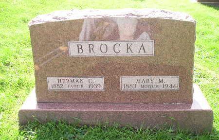 BROCKA, HERMAN C. - Bremer County, Iowa | HERMAN C. BROCKA
