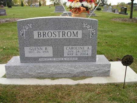BROSTROM, CAROLINE A - Bremer County, Iowa   CAROLINE A BROSTROM