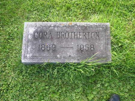BROTHERTON, CORA - Bremer County, Iowa   CORA BROTHERTON
