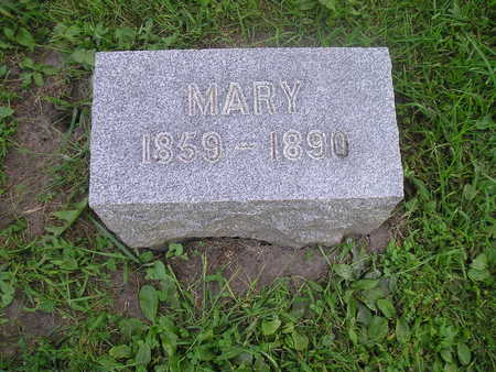 BROWN, MARY - Bremer County, Iowa | MARY BROWN