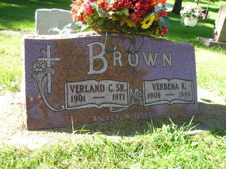 BROWN, VERLAND C SR - Bremer County, Iowa | VERLAND C SR BROWN