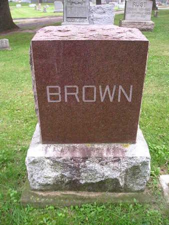 BROWN, MRS WM - Bremer County, Iowa | MRS WM BROWN