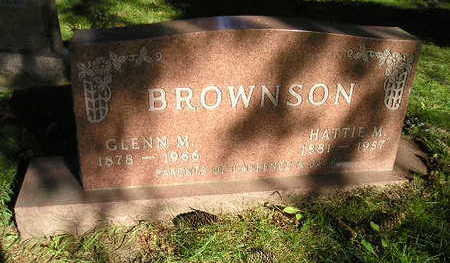 BROWNSON, HATTIE M - Bremer County, Iowa | HATTIE M BROWNSON
