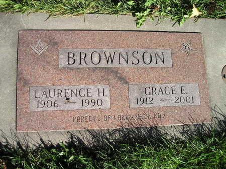 BROWNSON, LAURENCE H - Bremer County, Iowa | LAURENCE H BROWNSON