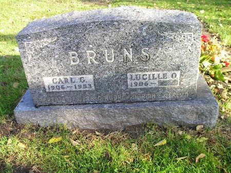 BRUNS, LUCILLE O - Bremer County, Iowa   LUCILLE O BRUNS