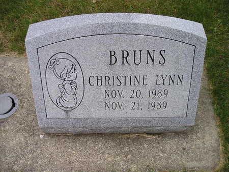 BRUNS, CHRISTINE LYNN - Bremer County, Iowa | CHRISTINE LYNN BRUNS