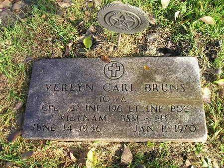 BRUNS, VERLYN CARL - Bremer County, Iowa | VERLYN CARL BRUNS