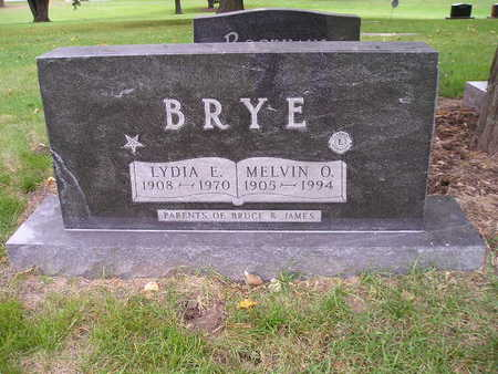 BRYE, MELVIN O - Bremer County, Iowa | MELVIN O BRYE