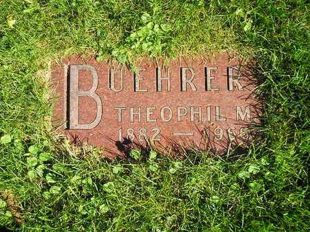 BUEHRER, THEOPHIL M - Bremer County, Iowa   THEOPHIL M BUEHRER