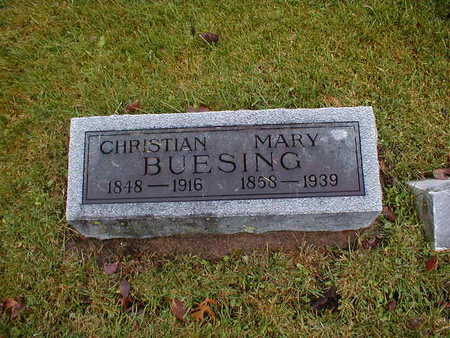 BUESING, MARY - Bremer County, Iowa | MARY BUESING