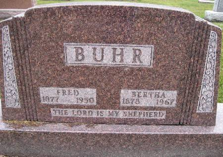 BUHR, BERTHA - Bremer County, Iowa | BERTHA BUHR