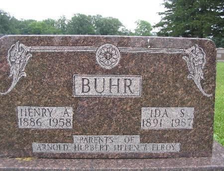 BUHR, IDA S - Bremer County, Iowa | IDA S BUHR