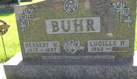 BUHR, HERBERT W - Bremer County, Iowa   HERBERT W BUHR