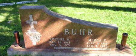 BUHR, LORENZ W - Bremer County, Iowa   LORENZ W BUHR
