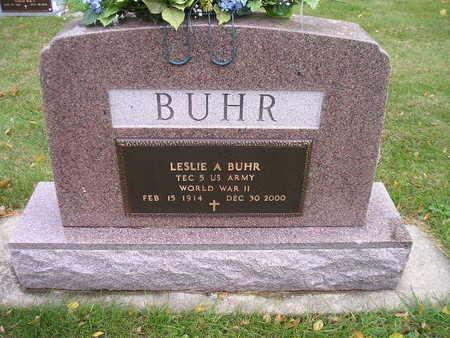 BUHR, LESLIE A - Bremer County, Iowa   LESLIE A BUHR
