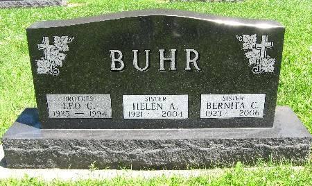 BUHR, HELEN A - Bremer County, Iowa | HELEN A BUHR