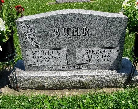 BUHR, GENEVA J - Bremer County, Iowa | GENEVA J BUHR