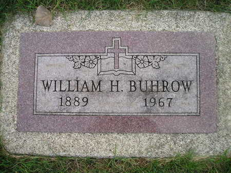 BUHROW, WILLIAM H - Bremer County, Iowa   WILLIAM H BUHROW