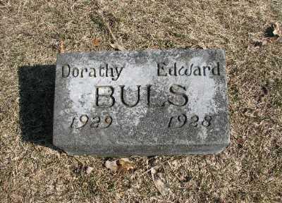 BULS, DORATHY - Bremer County, Iowa   DORATHY BULS