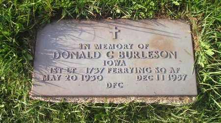 BURLESON, DONALD - Bremer County, Iowa | DONALD BURLESON