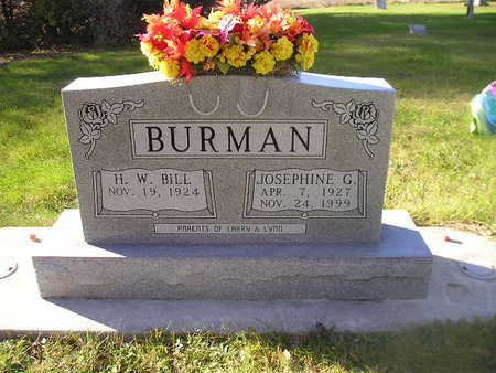 BURMAN, H W