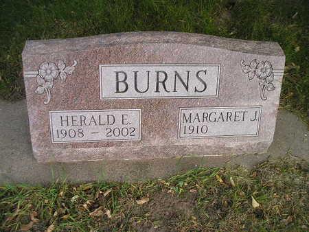 BURNS, MARGARET J - Bremer County, Iowa | MARGARET J BURNS