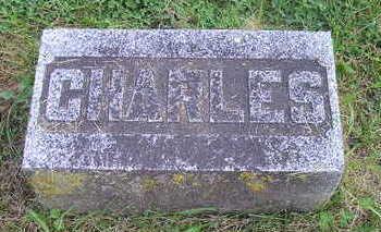 BURRINGTON, CHARLES - Bremer County, Iowa   CHARLES BURRINGTON