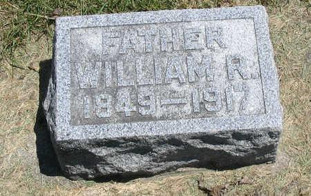 BURROW, WILLIAM R - Bremer County, Iowa   WILLIAM R BURROW