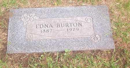JONES BURTON, EDNA - Bremer County, Iowa | EDNA JONES BURTON