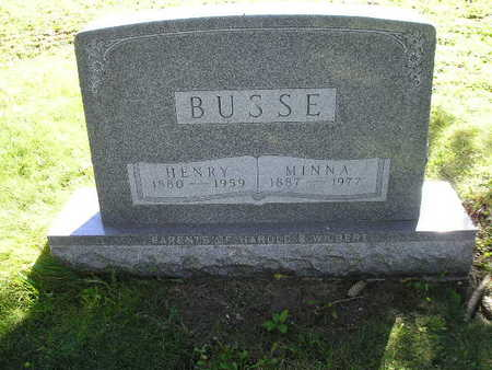 BUSSE, HENRY - Bremer County, Iowa | HENRY BUSSE