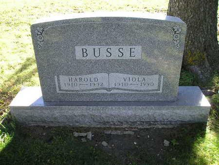BUSSE, HAROLD - Bremer County, Iowa | HAROLD BUSSE