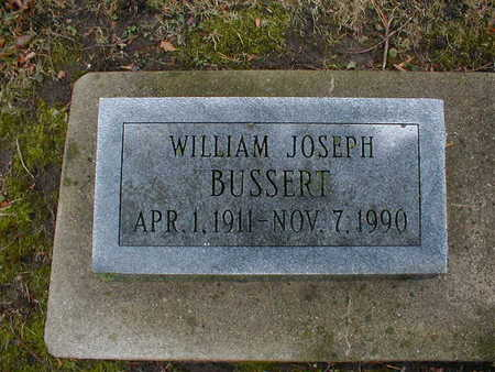 BUSSERT, WILLIAM JOSEPH - Bremer County, Iowa | WILLIAM JOSEPH BUSSERT