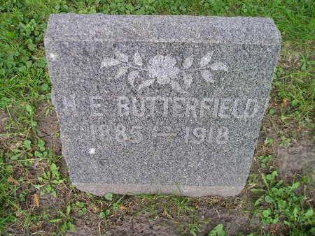 BUTTERFIELD, H E - Bremer County, Iowa | H E BUTTERFIELD