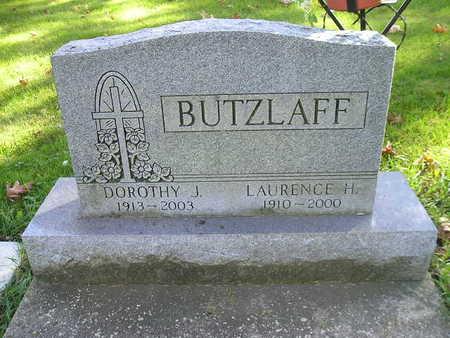 BUTZLAFF, LAURENCE H - Bremer County, Iowa   LAURENCE H BUTZLAFF