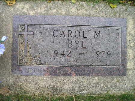 BYL, CAROL M - Bremer County, Iowa | CAROL M BYL