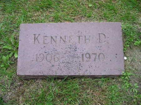 CAFFNEY, KENNETH D - Bremer County, Iowa   KENNETH D CAFFNEY