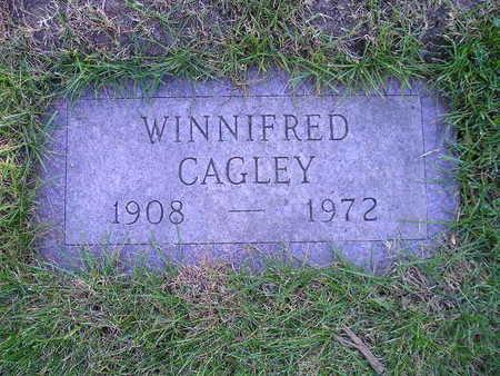 CAGLEY, WINNIFRED - Bremer County, Iowa | WINNIFRED CAGLEY