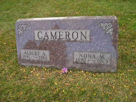 CAMERON, ALBERT A - Bremer County, Iowa | ALBERT A CAMERON