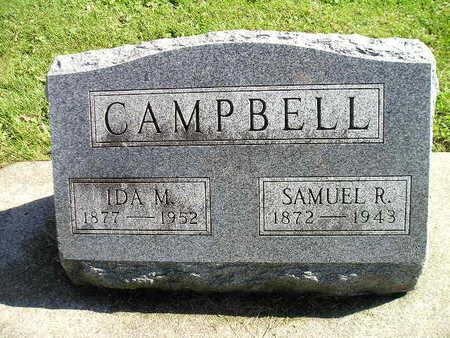 CAMPBELL, SAMUEL R - Bremer County, Iowa | SAMUEL R CAMPBELL